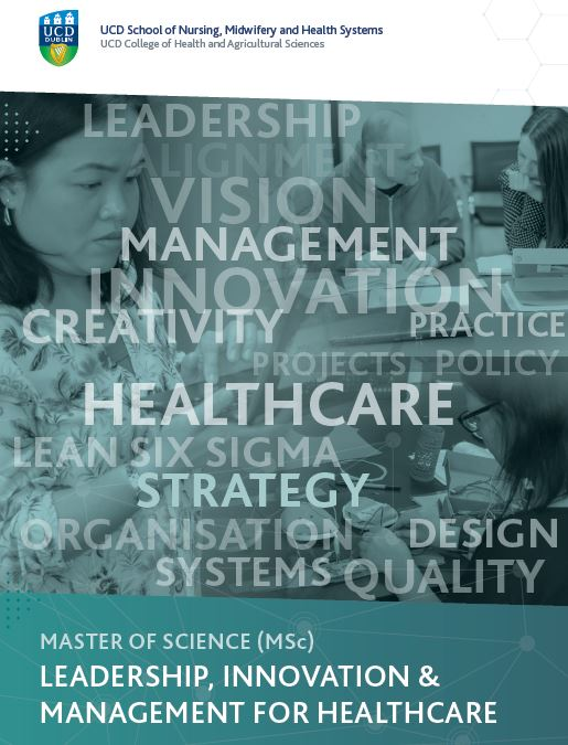 MSc Leadership, Innovation and Management for Healthcare